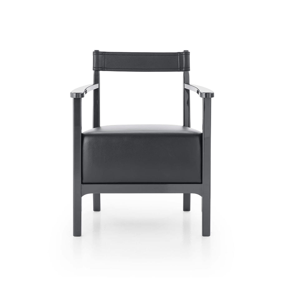 Chinotto D_CT2 Armchair In 106 Kasia Leather