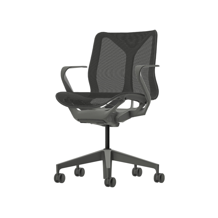 Cosm Task Chair In Carbon
