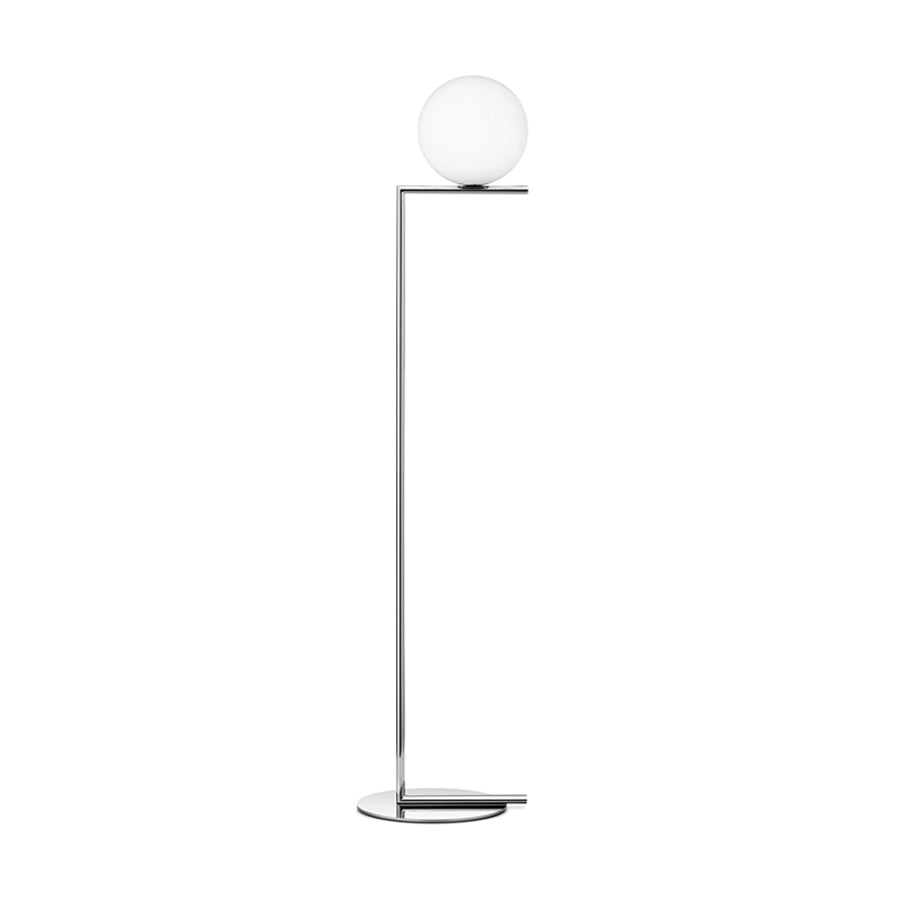 IC Lights Floor 2 Floor Lamp in Chrome