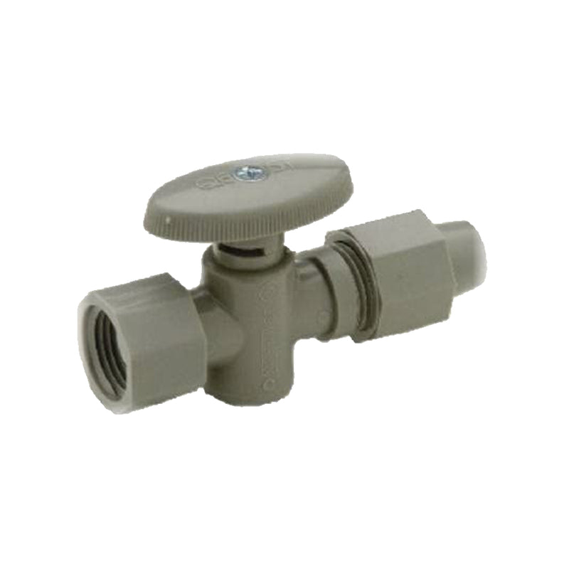 Qest QV302 1/2 inch plastic angle valve with 12 inch long with plastic rise tube