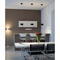 Trofeo Pendant lamp in champagne with Gesture Control