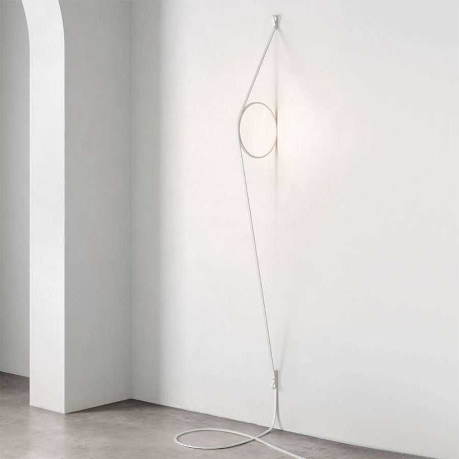 Wirering Wall Lamp in Grey