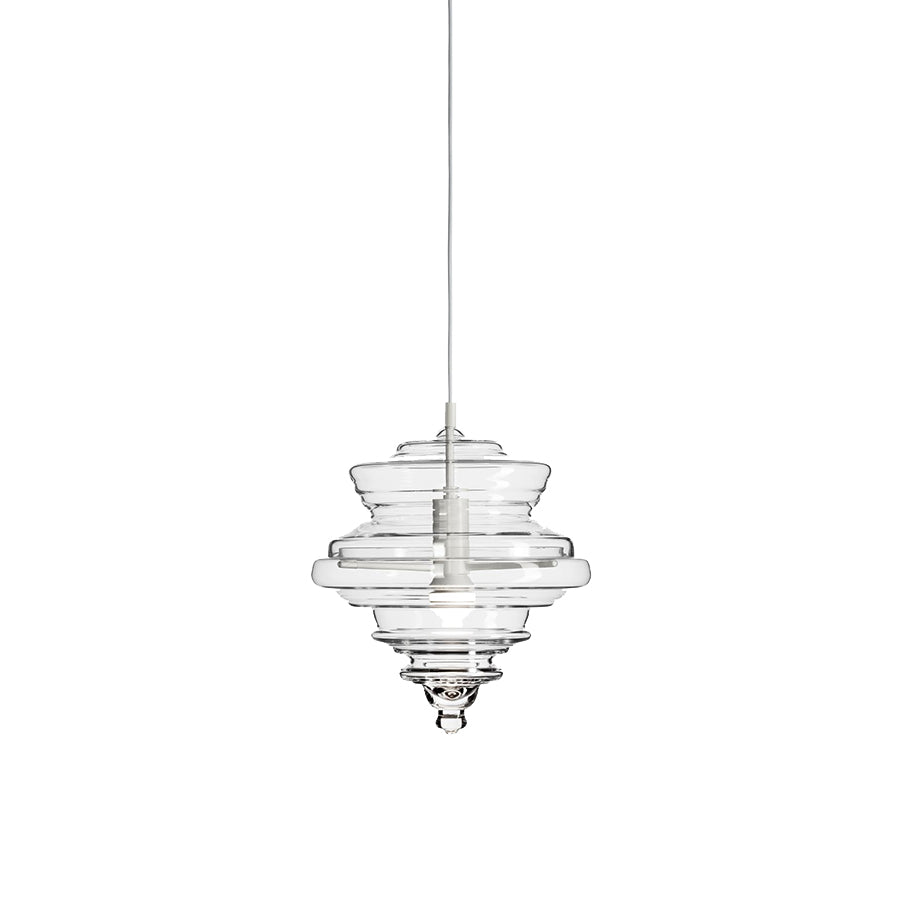 Neverending Glory La Scala Small Pendant Lamp in clear