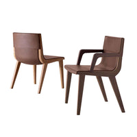 Acanto Chair In 410 Gamma Lichen Leather