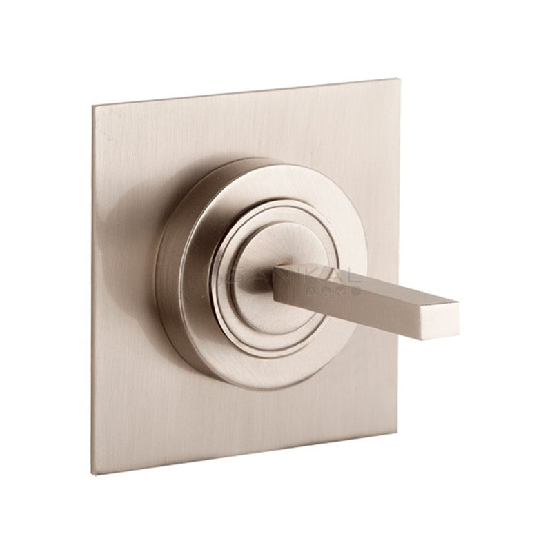 Rettangolo J 20709.031 wall-mounted exposed part in chrome for basin mixer