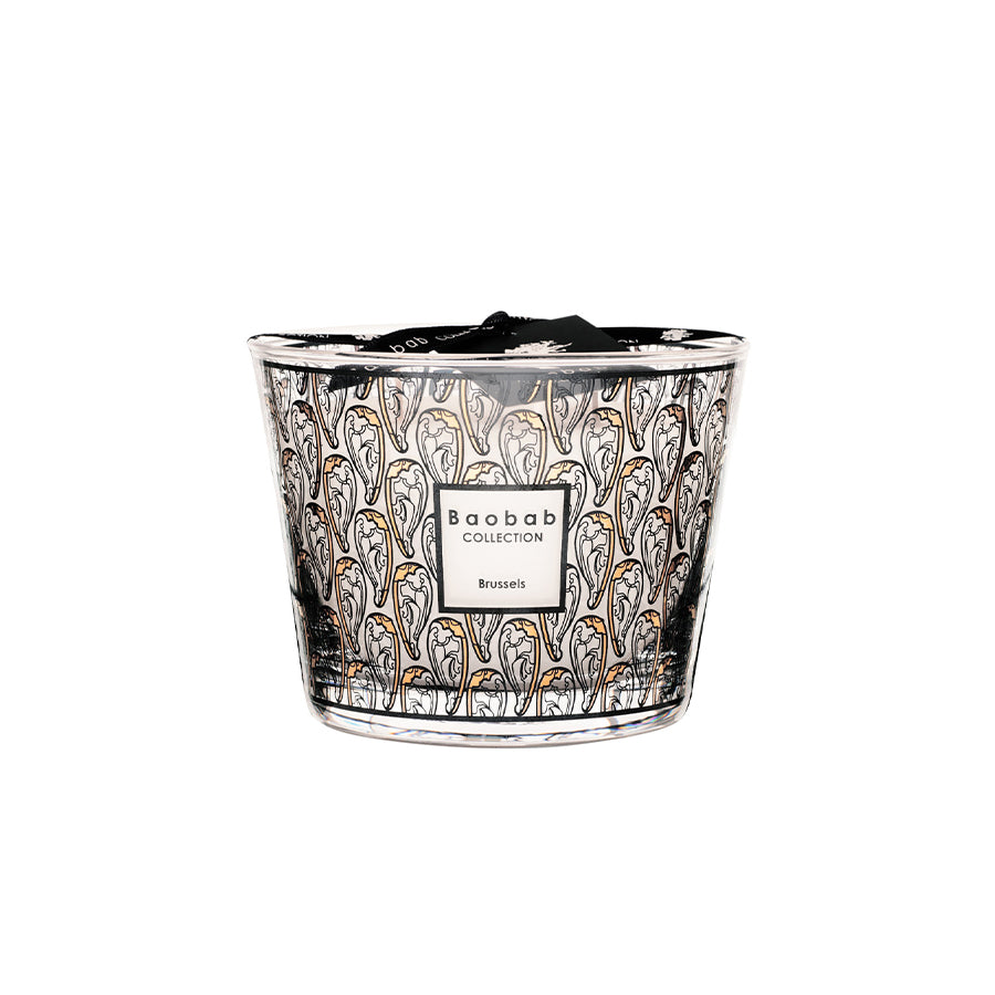 Cities Candle in Brussels Art Nouveau Scented (Max 10)