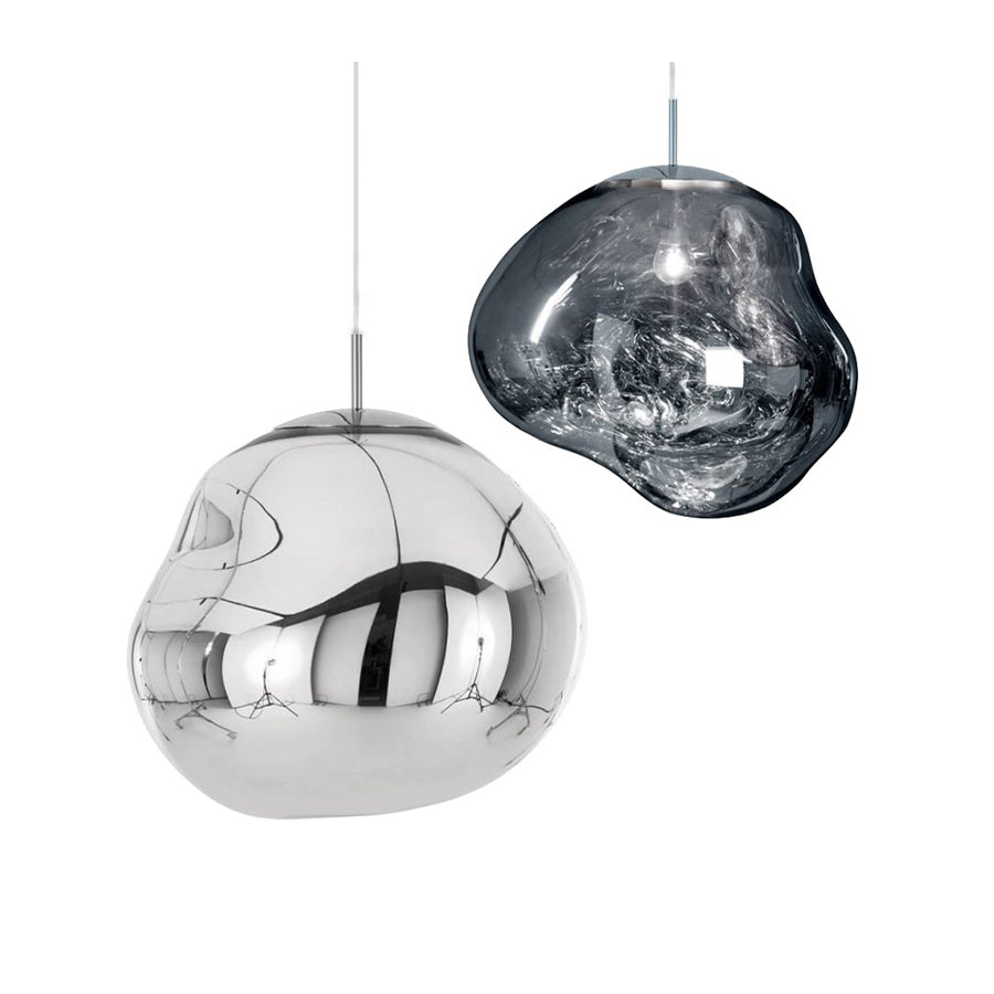 Melt Pendant Lamp in Chrome