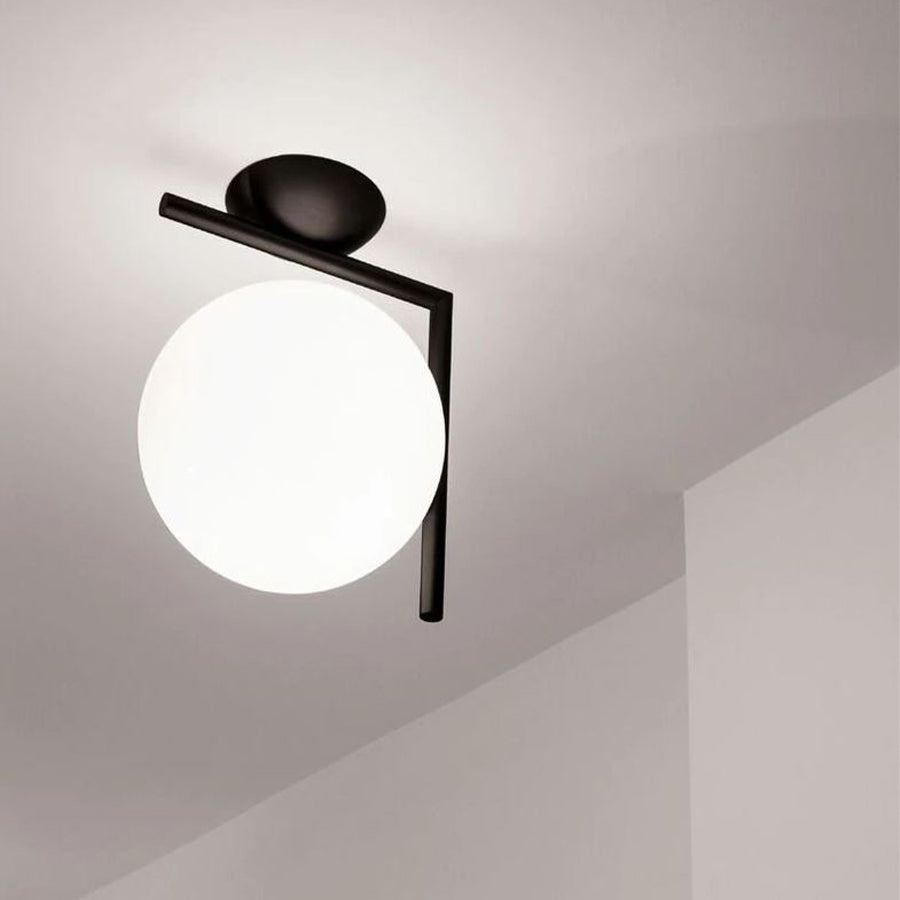 IC Lights Wall 2 Lamp in Matt Black