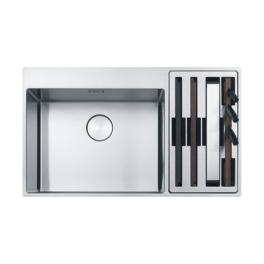 Box Center stainless steel sink BWX 220-54-27 TL