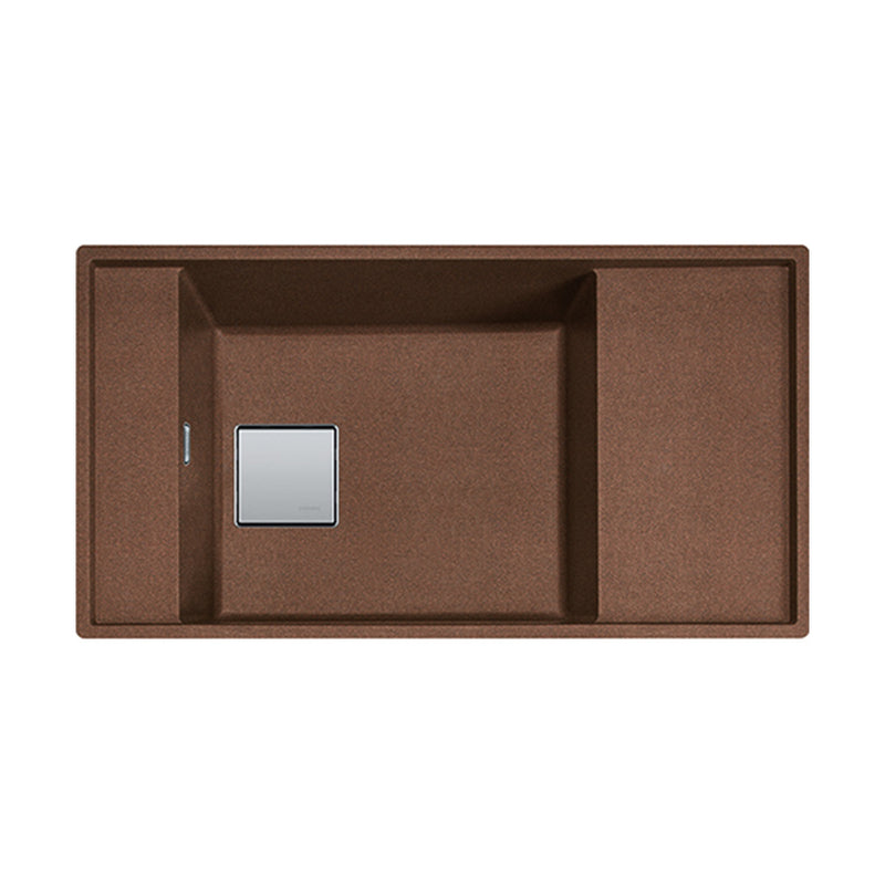 Frames by Franke granite sink FSG 211-86 Copper Gold