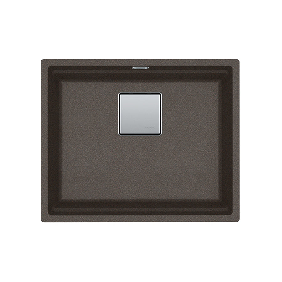 Kubus 2 granite sink KNG 110-52 Copper Grey