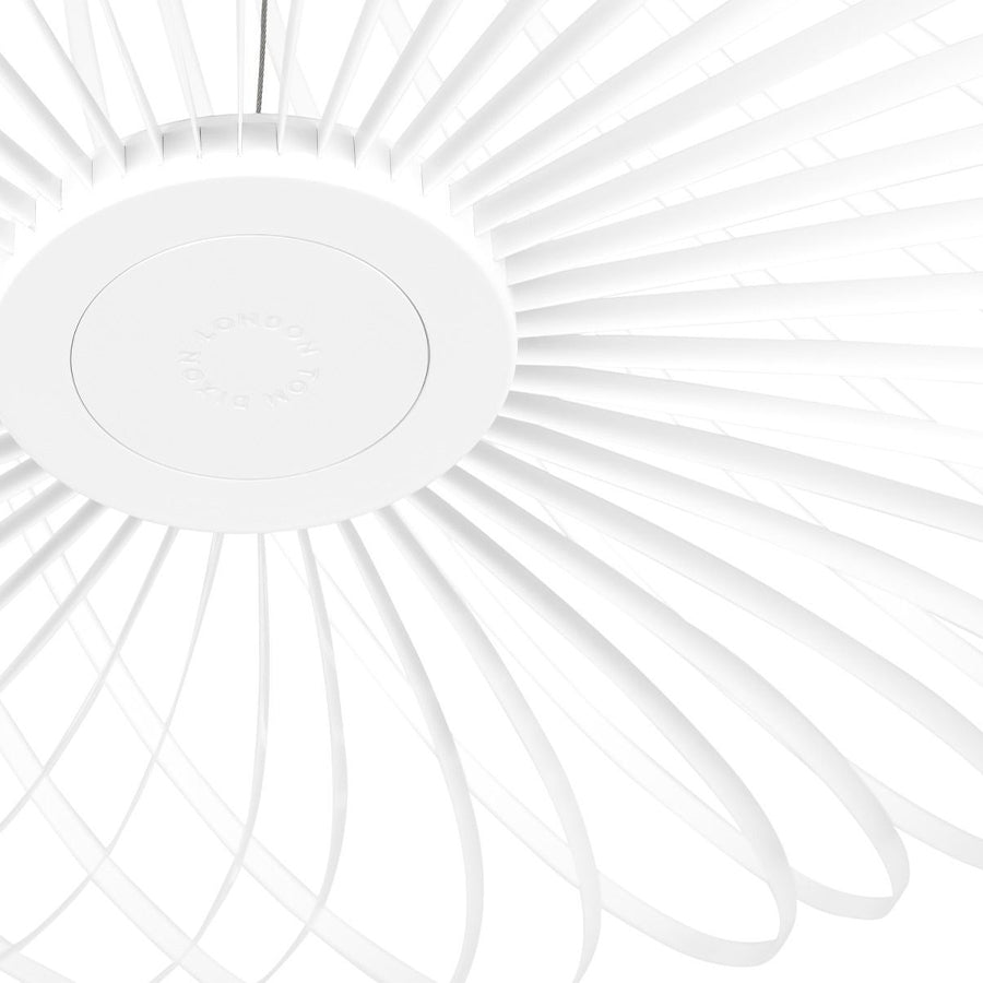 Spring Large Pendant Lamp in White