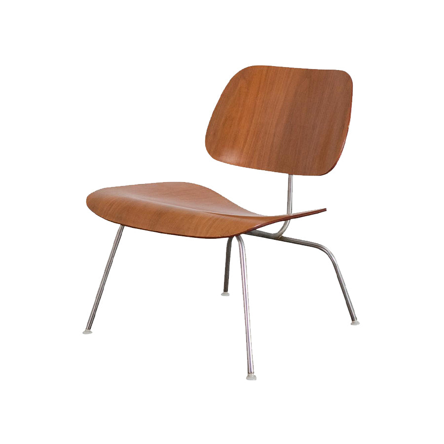 Eames Molded Plywood Chair In 9N Santos Palisander Shell