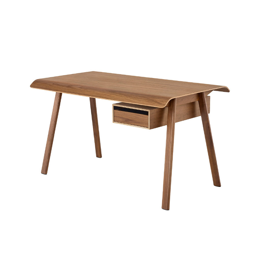 Distil Desk In Walnut