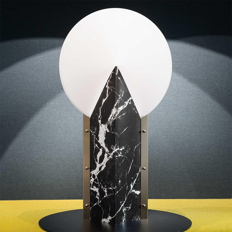 Moon 25th Anniversary Table Lamp in Black