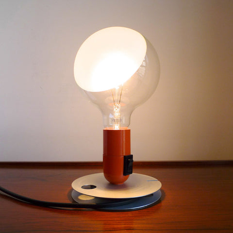 Lampadina Table Lamp in Orange