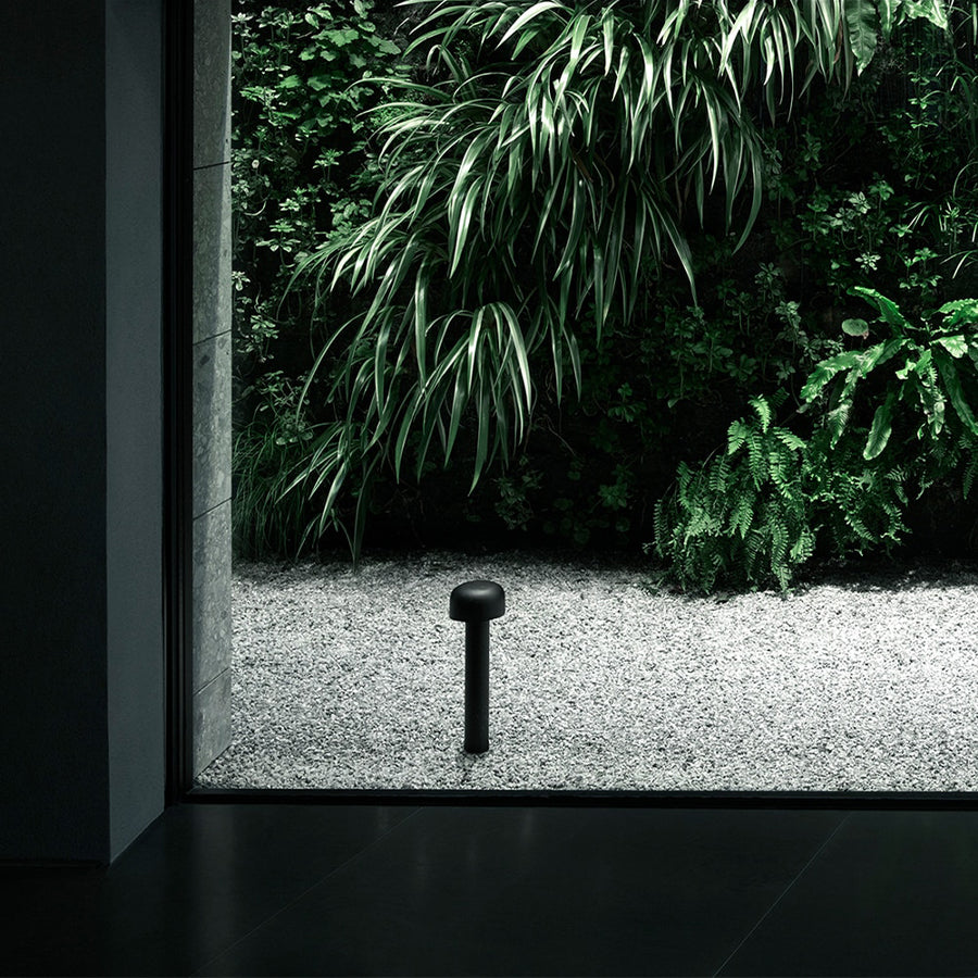 Bellhop Bollard Floor Lamp in Anthracite