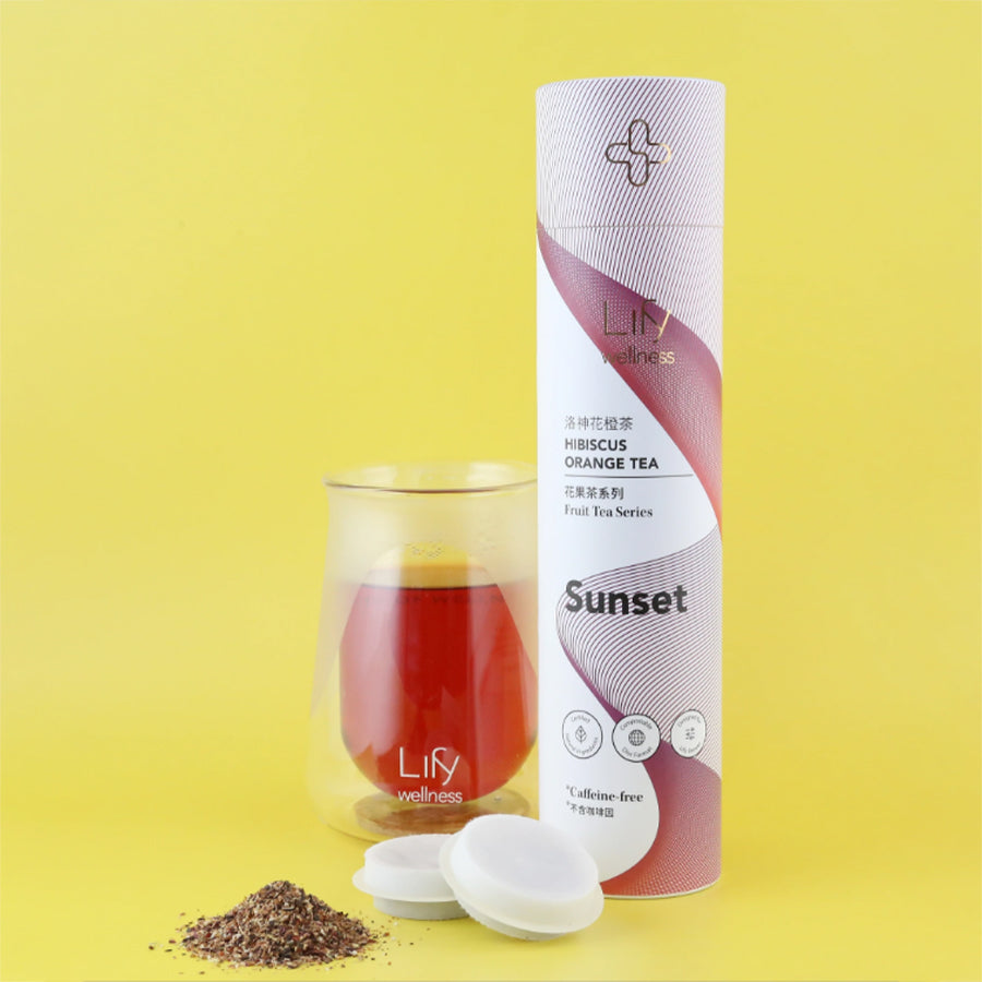 Sunset Hibiscus Orange Tea, 14/tube