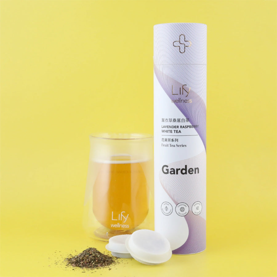 Garden Lavender Raspberry White Tea, 14/tube