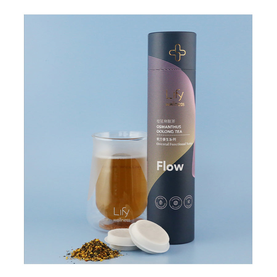 Flow Osmanthus Oolong Tea, 14/tube