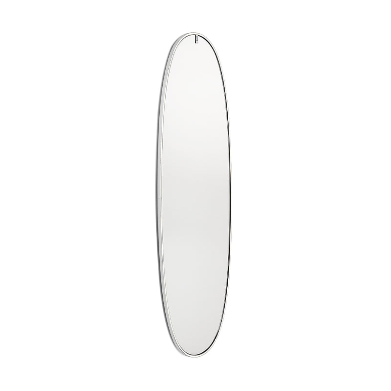 La Plus Belle Wall-Mounted Mirror in Polished Aluminium