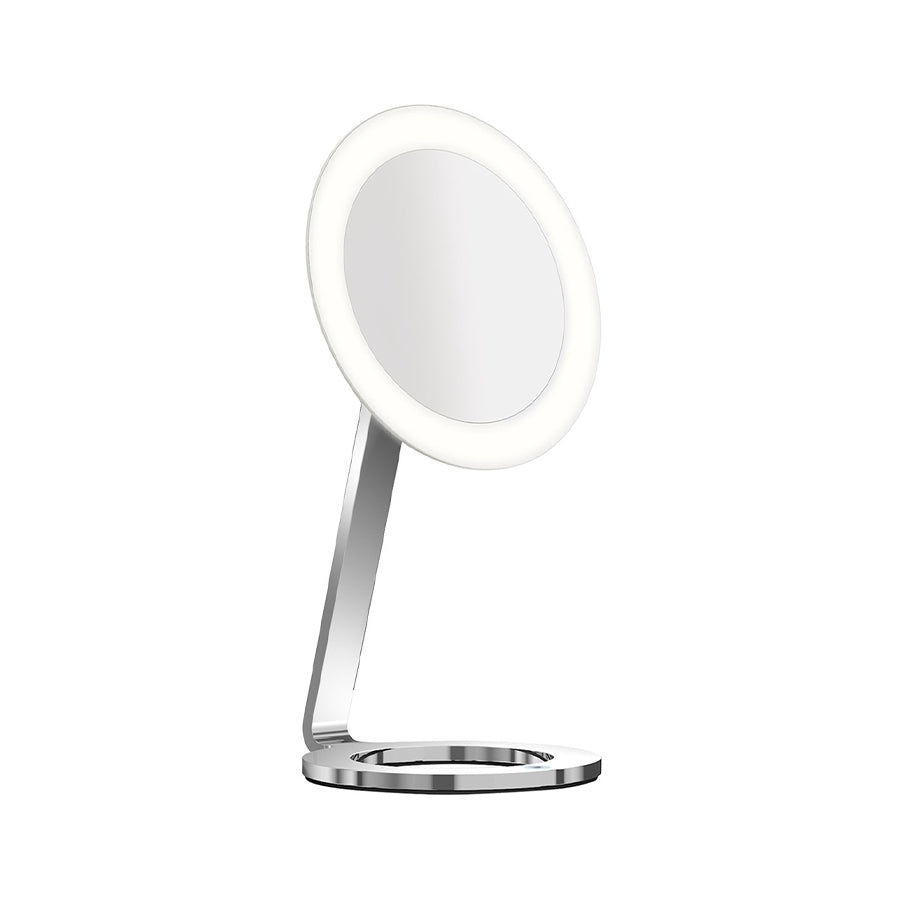 LED Moon Dance freestanding lighted cosmetic Mirror 020791
