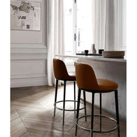 Caratos CA87ST Stools in 112 Gamma Leather