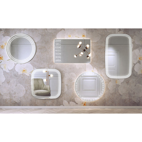 RI-TRATTI illuminated mirror TRAL80