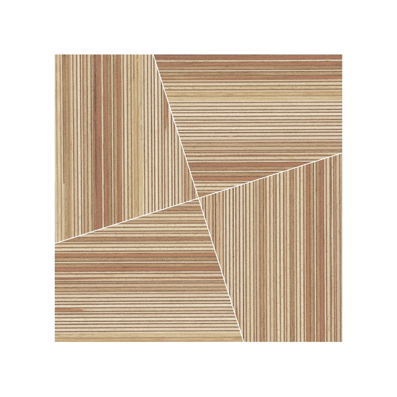 Woodlines Modulo A 0140205 tiles 44.5 x 44.5 x 10 mm in Shorea (set of 4)
