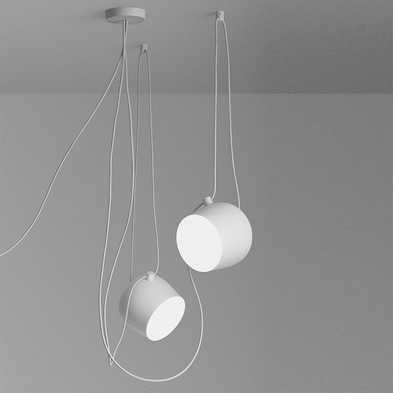 Aim cable-plug Suspenion Lamps in White