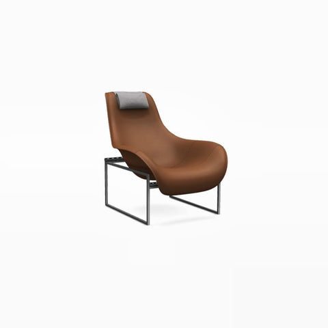 Mart MPRN_1 Armchair in Alfa 571, With Headrest in Laveno 2488102
