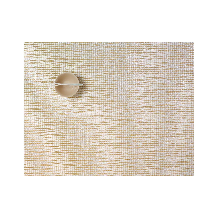 Lattice Rectangle Placemat in Gold