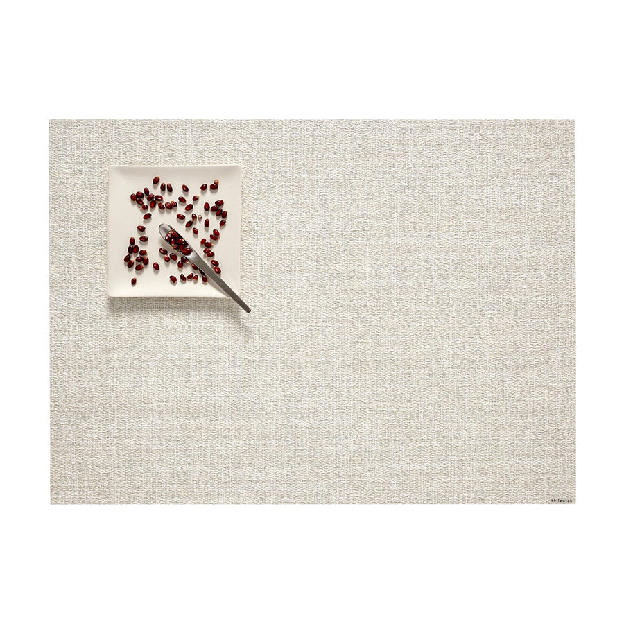 Boucle Rectangle Placemat in Marshmallow