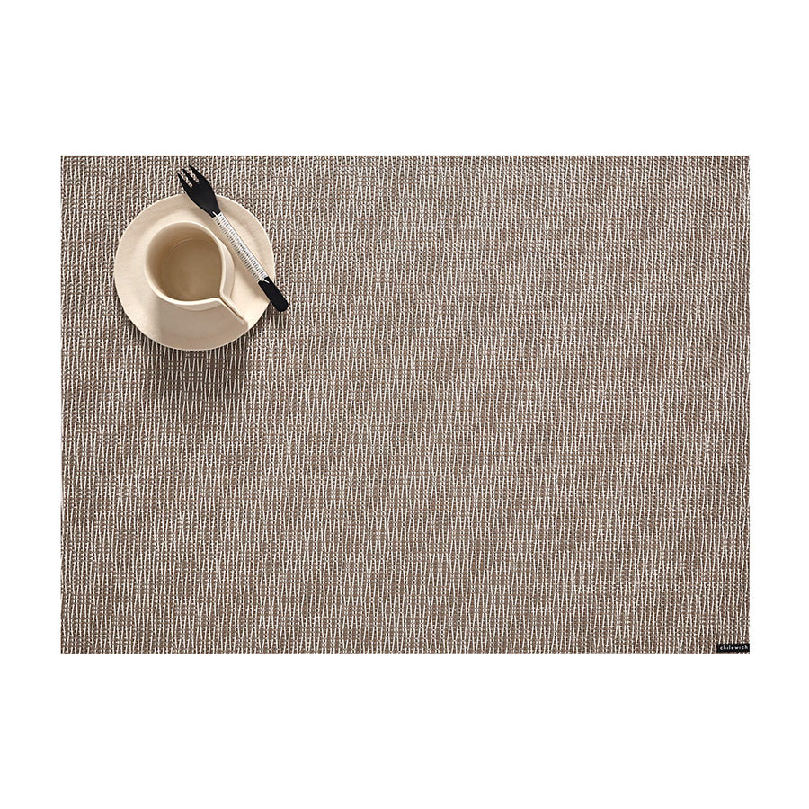 Whistle Rectangle Placemat in Driftwood