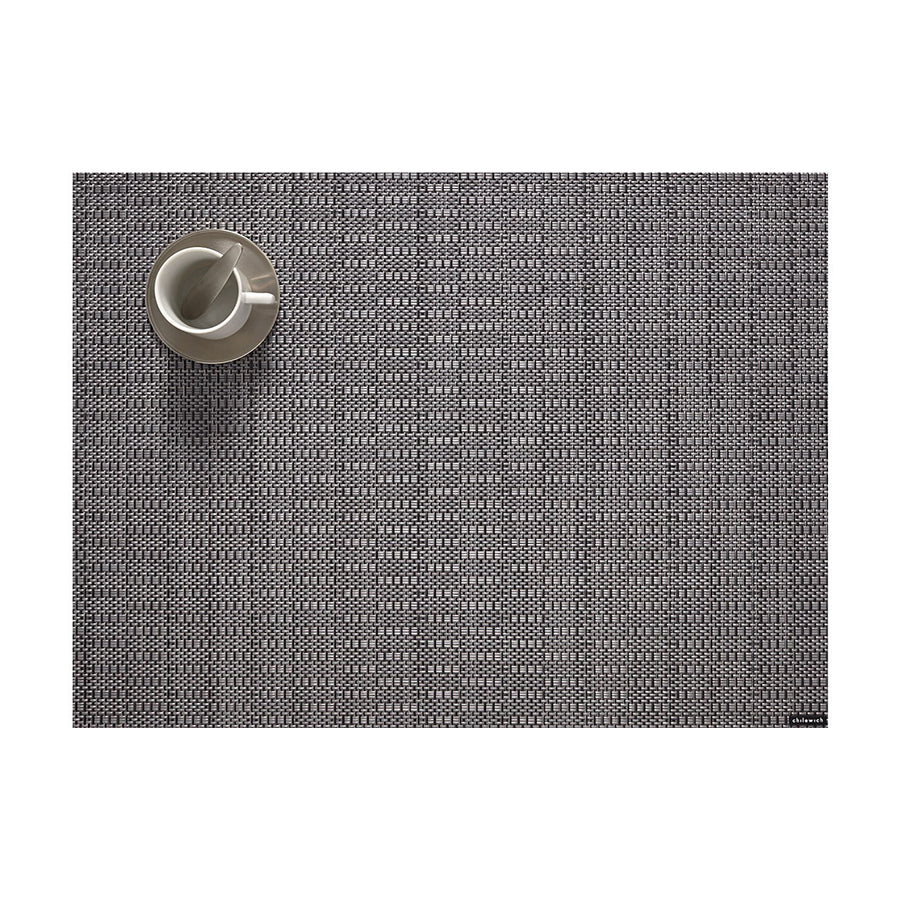 Thatch Rectangle Placemat in Pewter