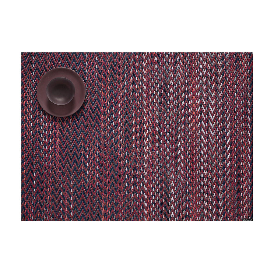 Quill Rectangle Placemat in Mulberry