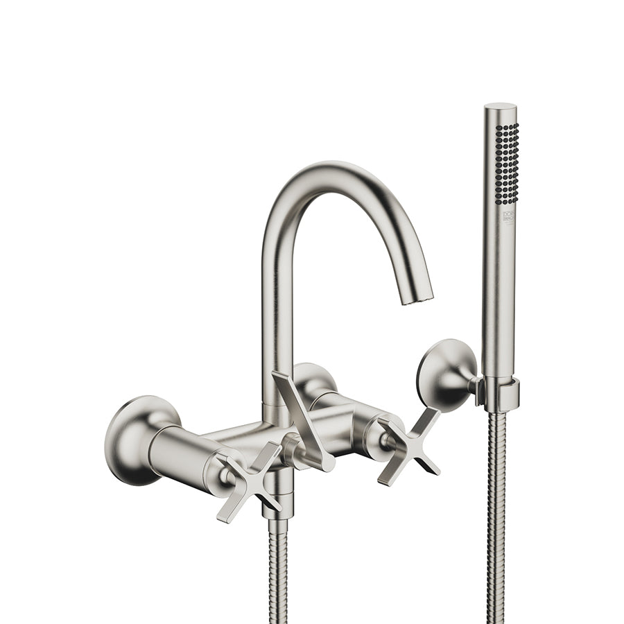 VAIA Wall-mounted Exposed Bath Mixer w/Handshower Set 25133809-06