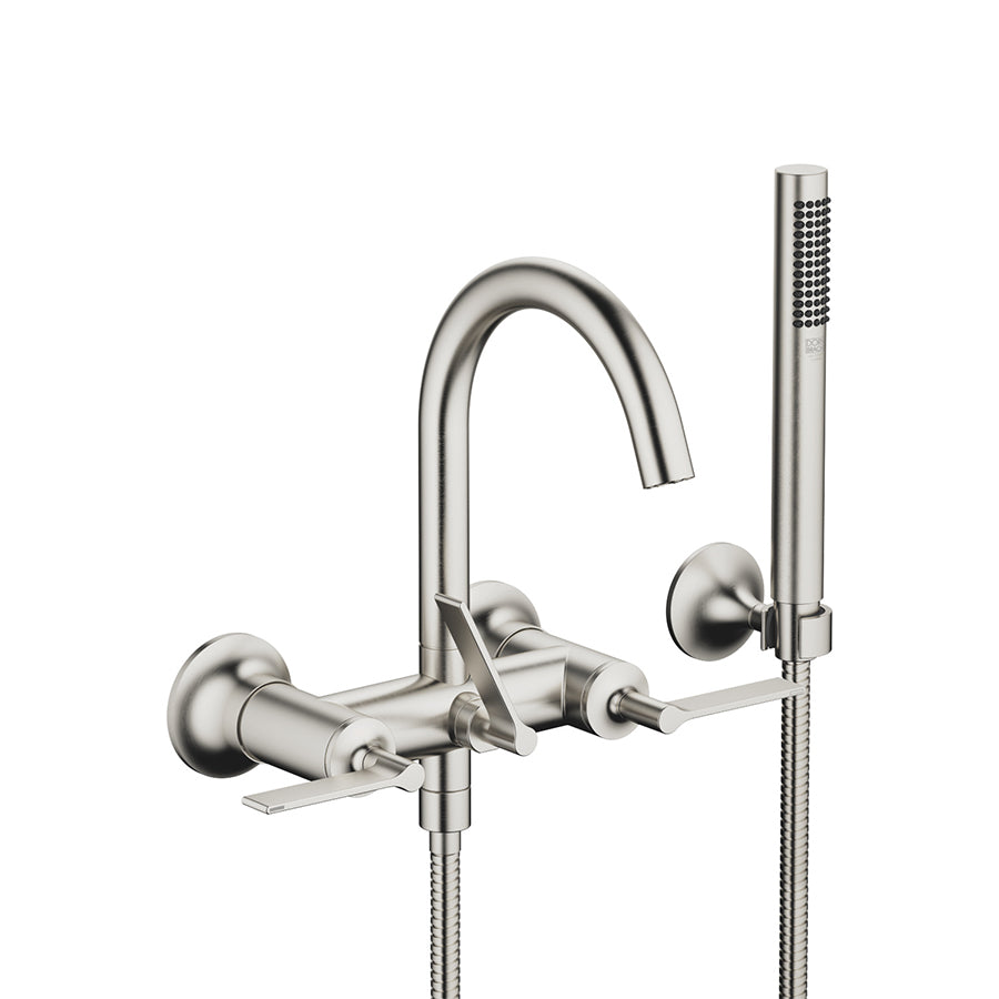 VAIA Wall-mounted Exposed Bath Mixer w/Handshower Set 25133819-06