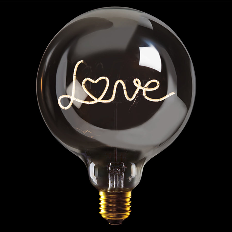 Message in the bulb, Love in plated smoke