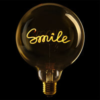 Message in the bulb, Smile in amber