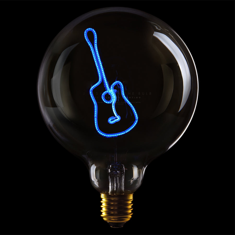 Message in the bulb, Guitar in clear