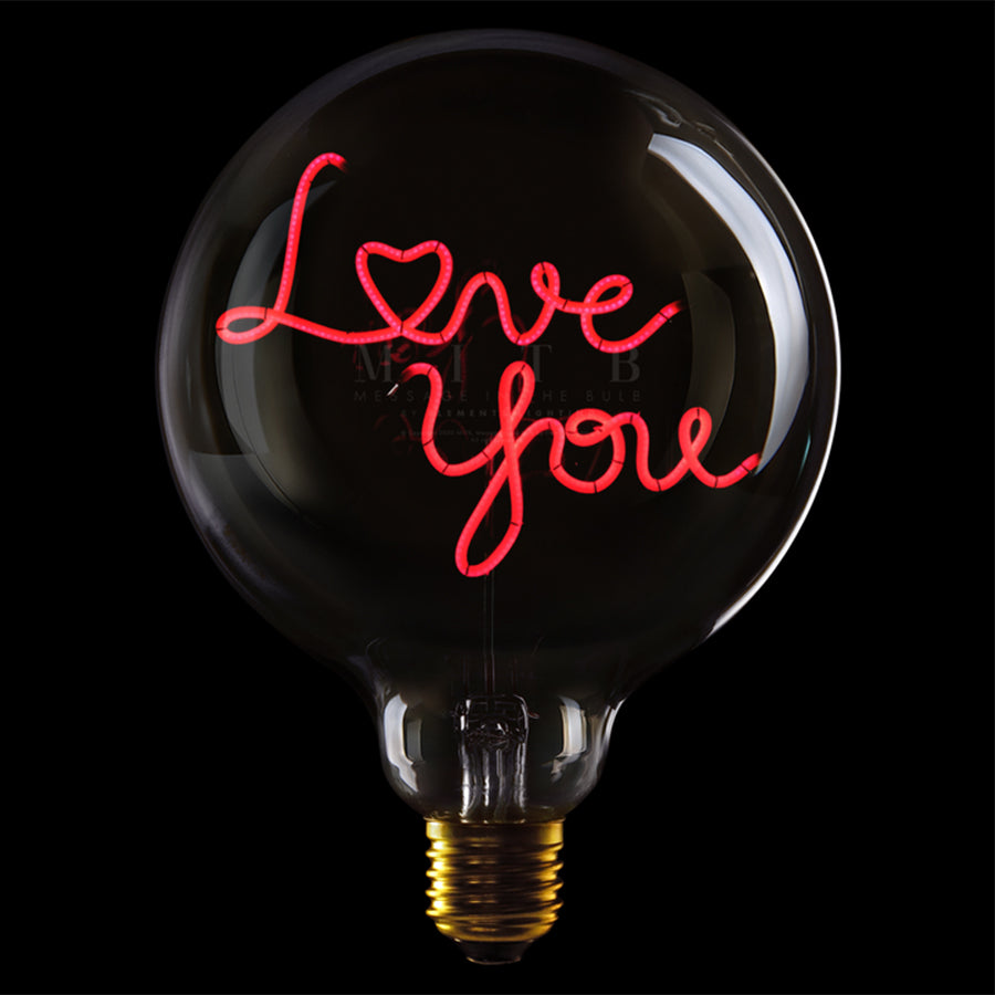 Message in the bulb, Love You in clear