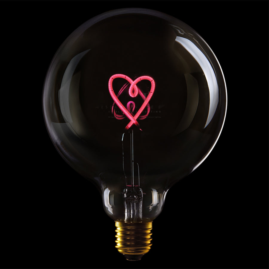 Message in the bulb, Heart in plated smoke