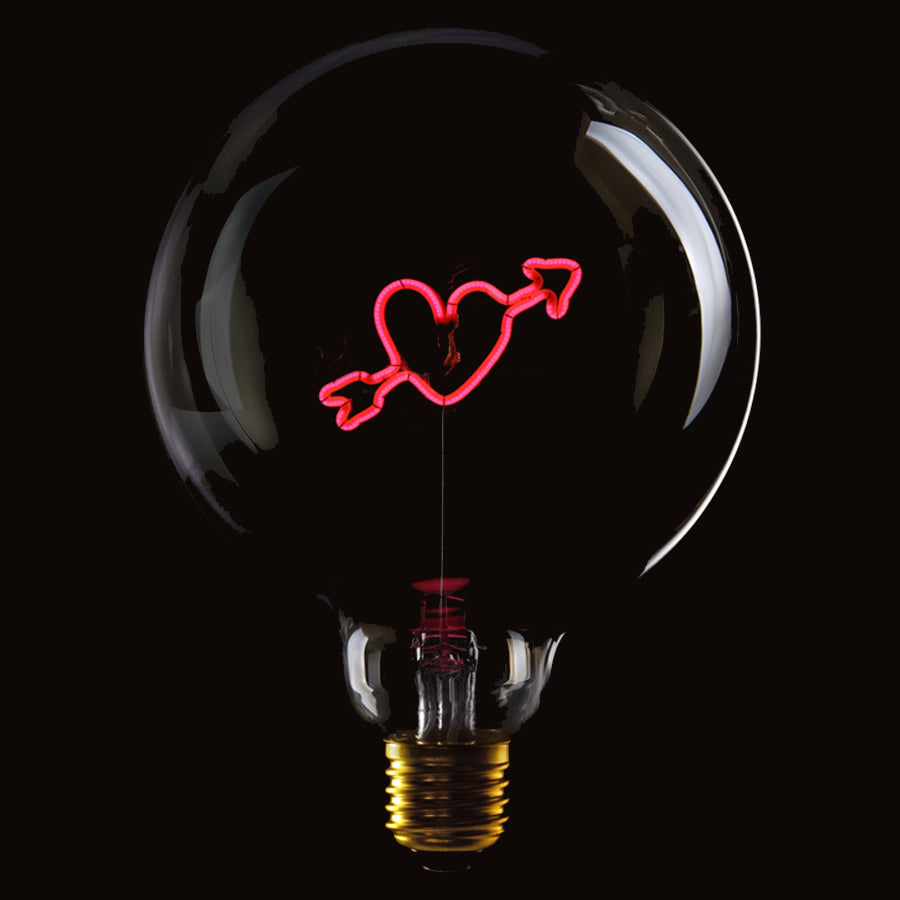 Message in the bulb, Heart Arrow in clear