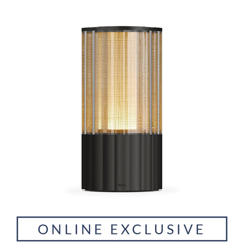 TOTEM REEDED VR080AB TABLE LAMP in Antique Bronze [ONLINE EXCLUSIVE]