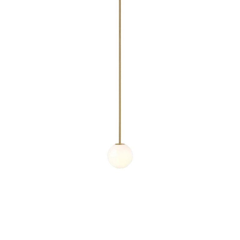 Brass Architectural Pendant