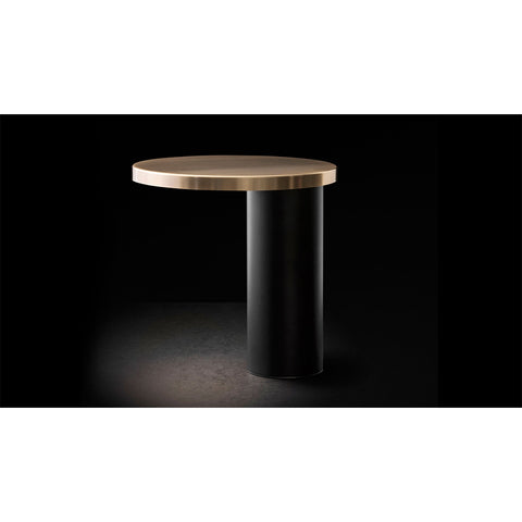 Cylinda Table Lamp in Satin Gold