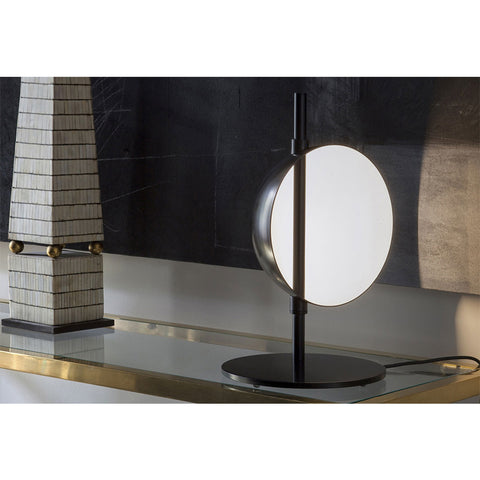 Superluna Table Lamp in Brass