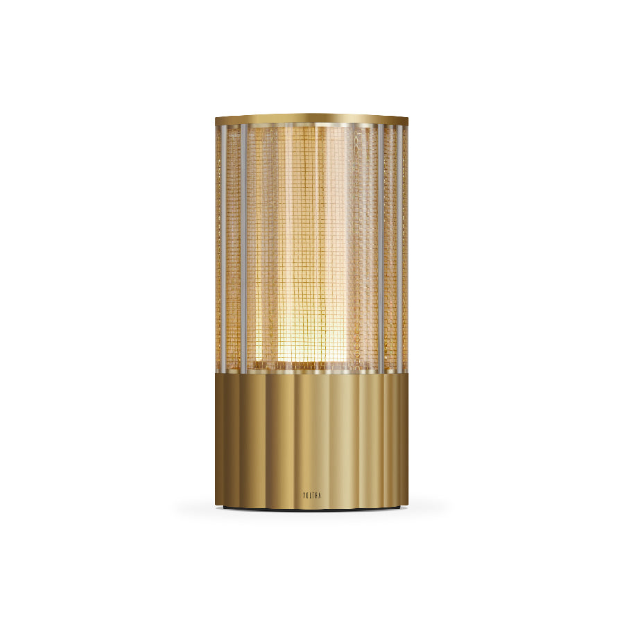Totem Reeded Table Lamp
