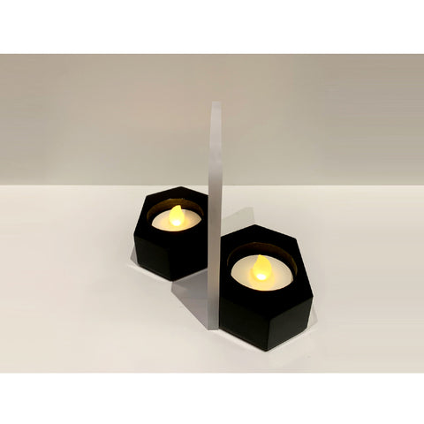 Distance Candle Holder by Alfred Lam